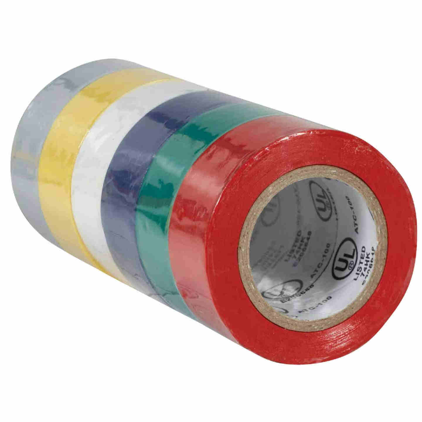 Do it General Purpose 3/4 In. x 20 Ft. Assorted Color Electrical Tape, (6-Pack) Image 3