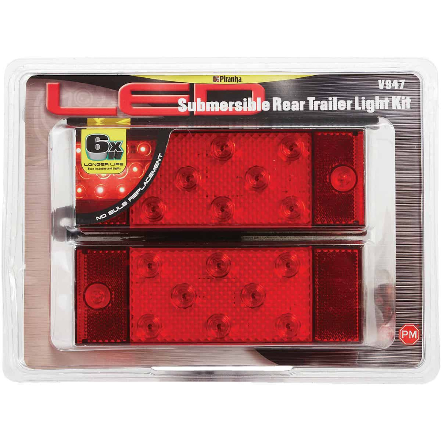 Peterson 80 In. Wide and Over LED Trailer Light Kit Image 2