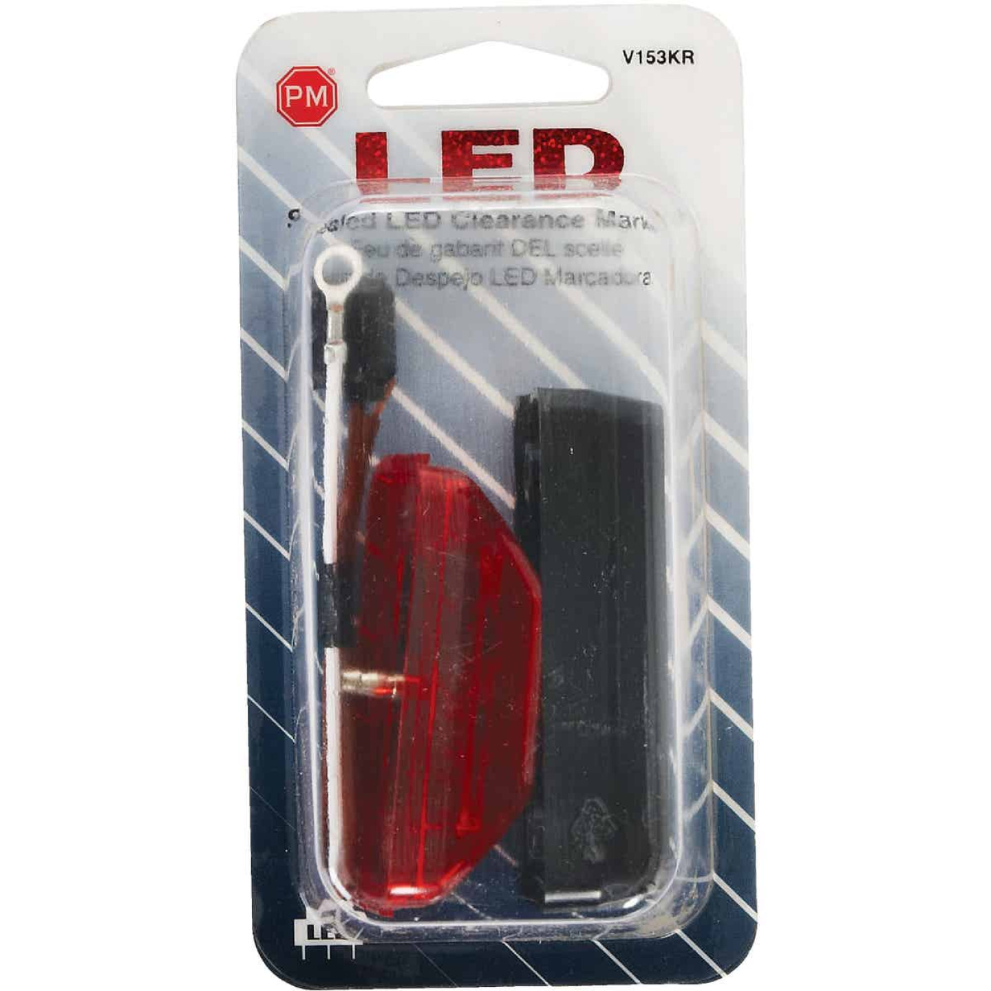 Peterson Rectangle Red Clearance Light Image 2