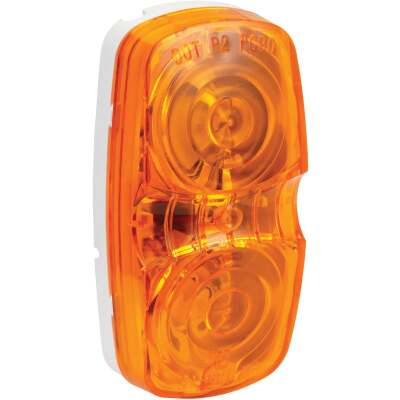 Peterson Low-Profile 12 V. Amber Clearance Light
