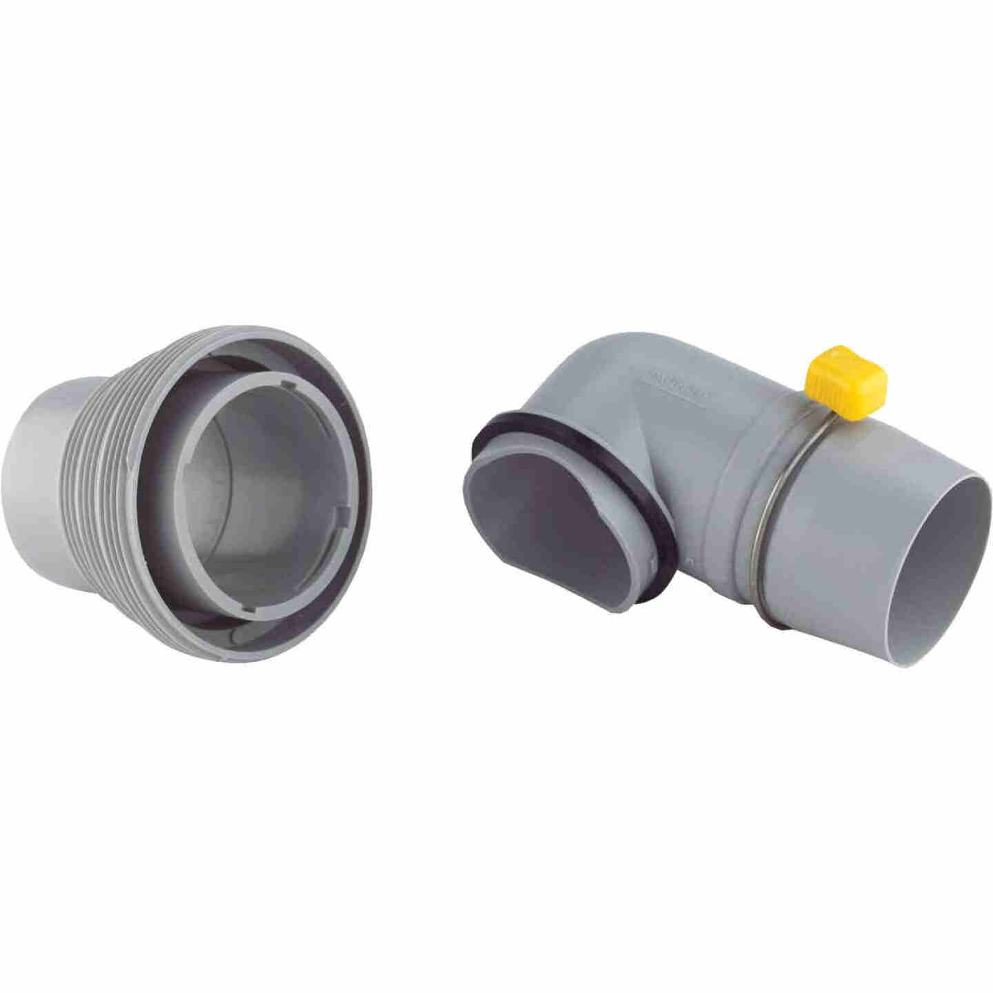 Camco RV Sewer Hose Adapter Image 1