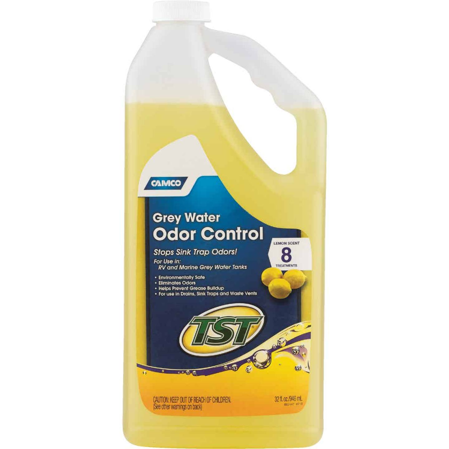 Camco TST Grey RV Water Line Cleaner,32 Oz. Image 2