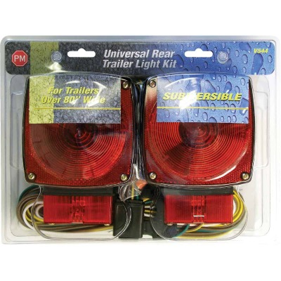 Peterson 80 In. Wide and Over Submersible Trailer Light Kit