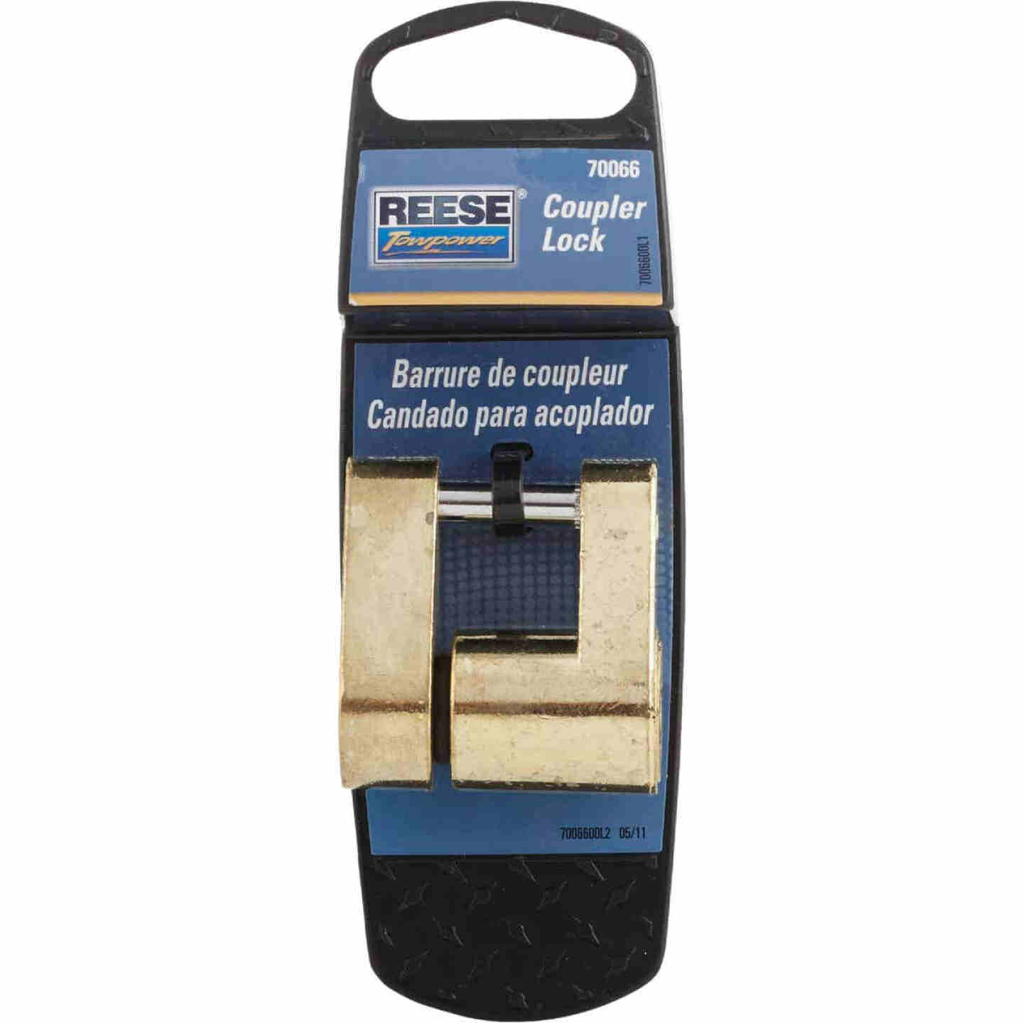 Reese Towpower Solid Cast Universal Latch Coupler Lock Image 2