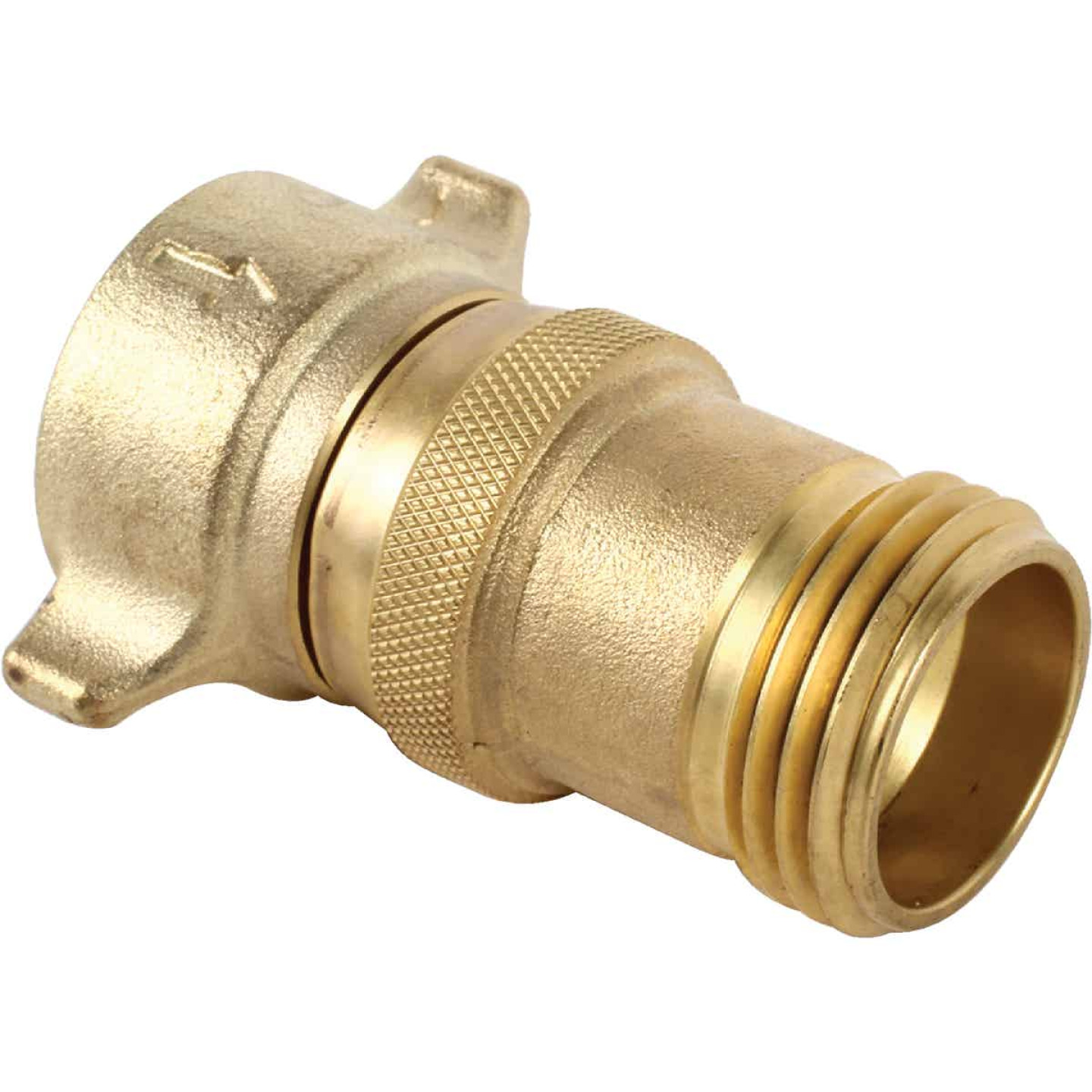 Camco 3/4 In. 40 - 50 psi Brass RV Water Regulator Image 1
