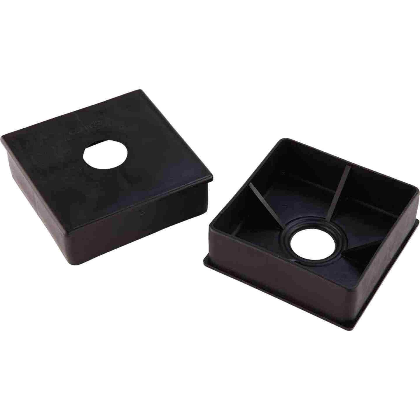 Camco 4 In. Polyethylene RV Bumper Cap, (2-Pack) Image 1