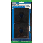 Camco 4 In. Polyethylene RV Bumper Cap, (2-Pack) Image 2
