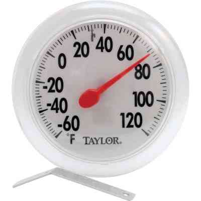 """Taylor 6"""" Fahrenheit -60 To 120 Outdoor Wall Thermometer"""
