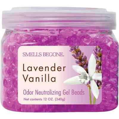Smells Begone 12 Oz. Gel Beads Lavender Vanilla Odor Neutralizer