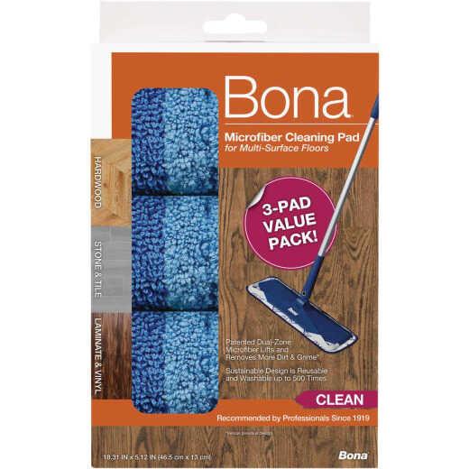 Bona Microfiber Multi-Surface Cleaning Pad (3-Pack)