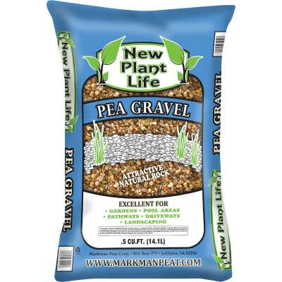 New Plant Life 0.5 Cu. Ft. Pea Gravel