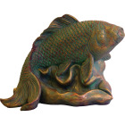 PondMaster 3.6 In. W. x 5.6 In. H. x 9 In. L. Resin Fountain Fish Spitter Image 1