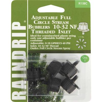Raindrip Full Circle Stream 13 GPH Adjustable Bubbler w/Threaded Inlet (5-Pack)