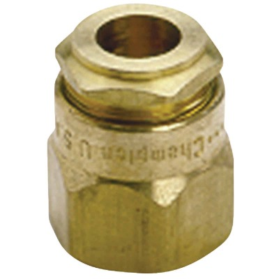 Champion Full Circle Adjustable 1/2 In. Inlet Brass Bubbler