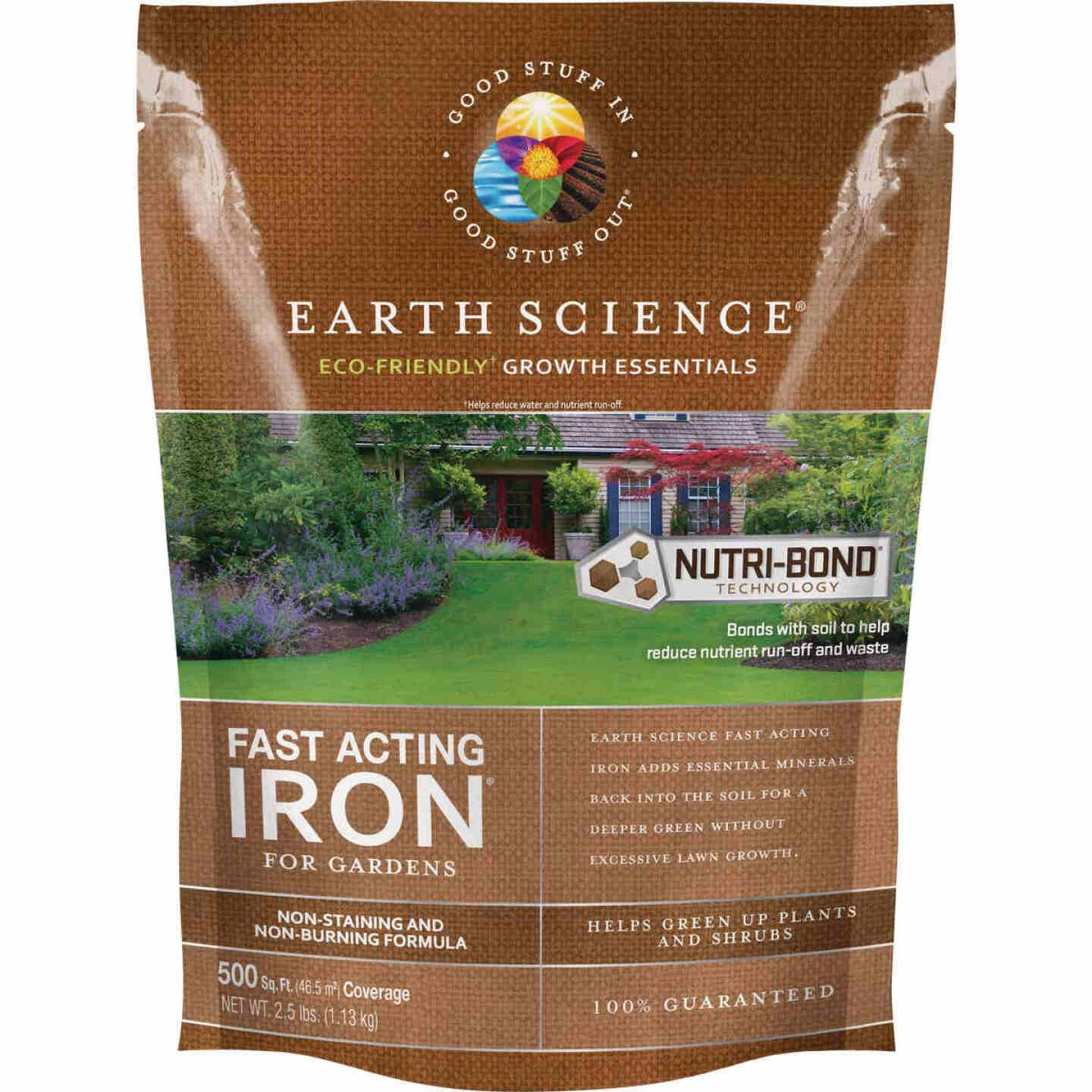 Earth Science Fast Acting 2.5 Lb. 1250 Sq. Ft. Coverage Iron & Soil Acidifier Image 1