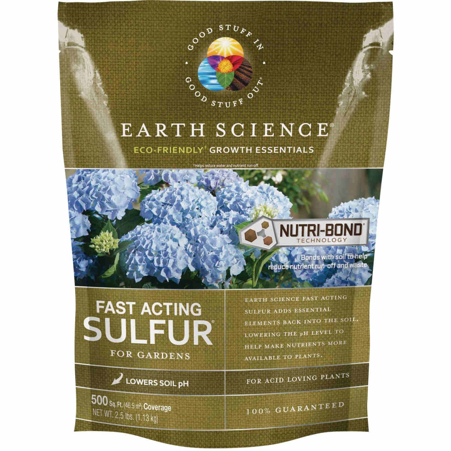 Earth Science 2.5 Lb. 500 Sq. Ft. Coverage Fast Acting Sulfur Image 1