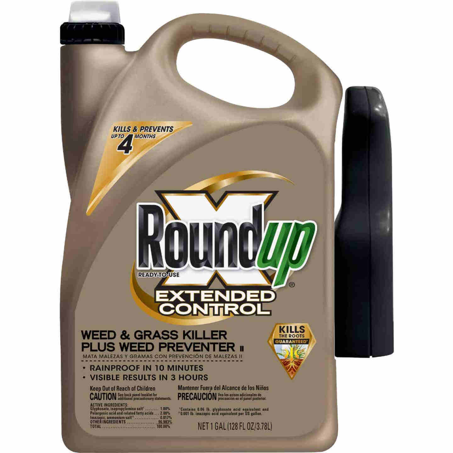 Roundup Extended Control 1 Gal. Ready To Use Wand Sprayer Weed & Grass Killer Plus Weed Preventer II Image 1