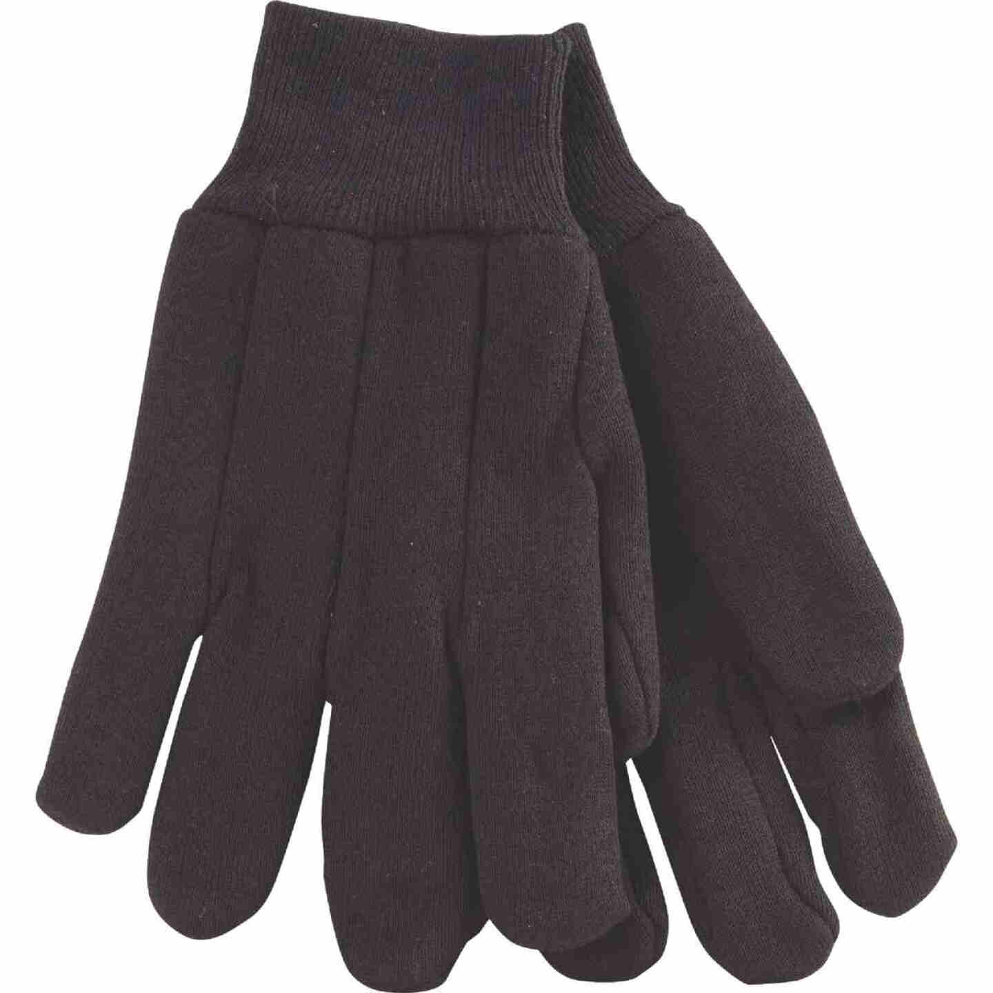 Do it Men's Large Lined Jersey Work Glove with Knit Wrist Image 1
