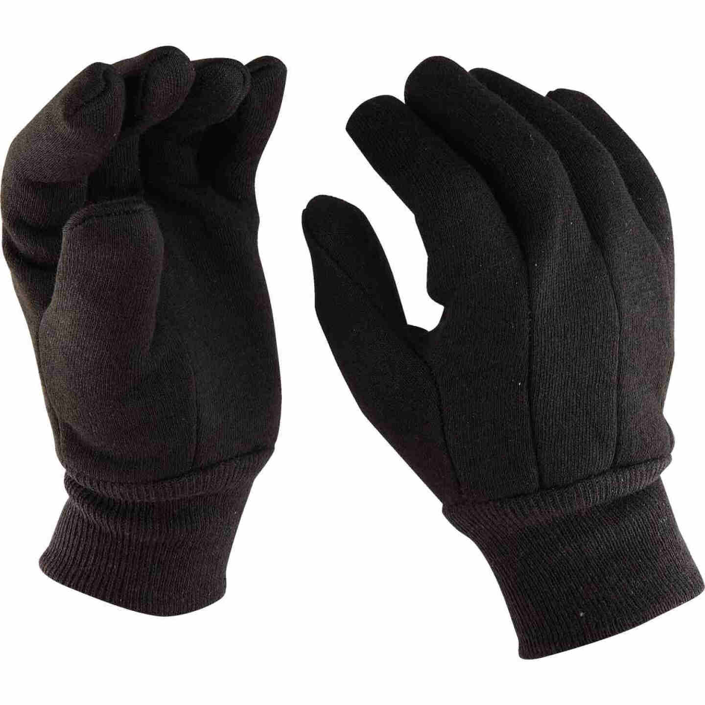 Do it Men's Large Lined Jersey Work Glove with Knit Wrist Image 3