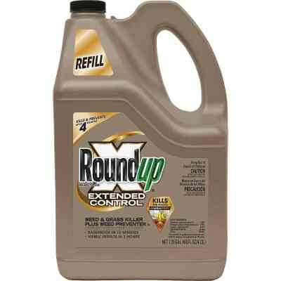 Roundup Extended Control 1-1/4 Gal. Ready To Use Weed & Grass Killer Plus Weed Preventer II