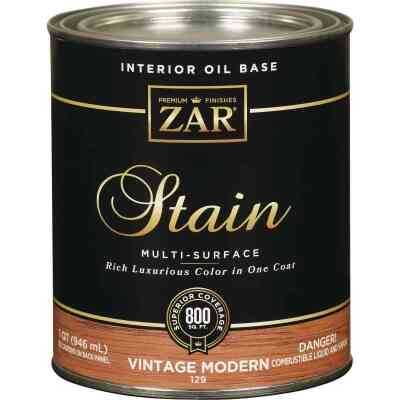 ZAR Oil-Based Wood Stain, Vintage Modern, 1 Qt.