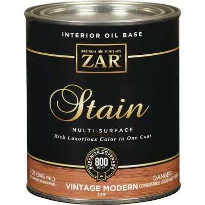 ZAR Oil-Based Wood Stain, Vintage Modern, 1 Qt.
