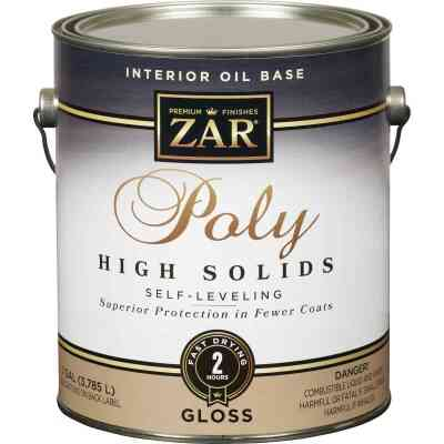 ZAR VOC Gloss Classic Wood Finish Interior Polyurethane, 1 Gal.