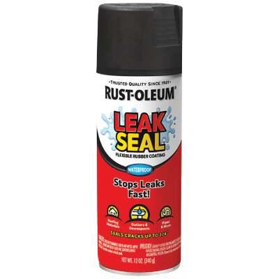Rust-Oleum LeakSeal 12 Oz. Flexible Rubber Coating, Black