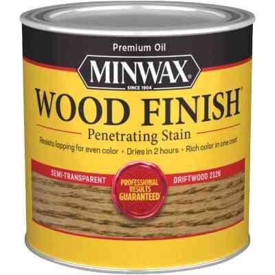 Minwax Wood Finish Penetrating Stain, Driftwood, 1/2 Pt.