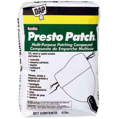 DAP Presto Patch 4 Lb. White Patching Compound