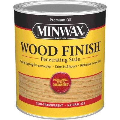 Minwax Wood Finish Penetrating Stain, Natural, 1 Qt.