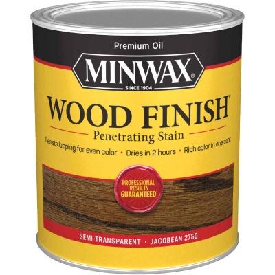 Minwax Wood Finish Penetrating Stain, Jacobean, 1 Qt.