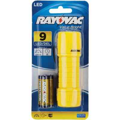 Rayovac Value Bright Yellow Mini LED Flashlight