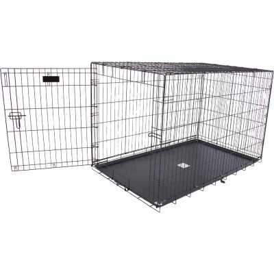 Petmate Aspen Pet 29.3 In. W. x 31 In. H. x 43.4 In. L. Heavy-Gauge Wire Indoor Training Dog Crate