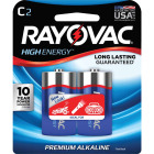 Rayovac High Energy C Alkaline Battery (2-Pack) Image 1