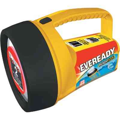 Eveready 7.3 In. L. x 5.12 In. Dia. Yellow Plastic Utility LED Lantern