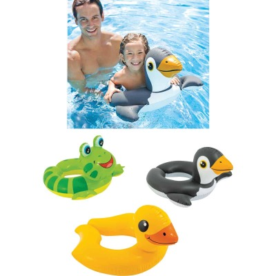 Intex Assorted Animal Split Ring 26 In. X 22 In. Pool Float