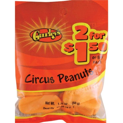 Gurley's 1.75 Oz. Circus Peanuts