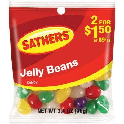 Gurley's Assorted Fruit Flavors 3.25 Oz. Jelly Beans
