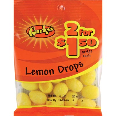 Gurley's 3 Oz. Lemon Drops