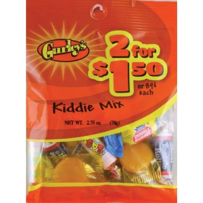 Gurley's 2.5 Oz. Kiddie Mix Candy